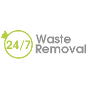 24/7 Waste Removal Logo