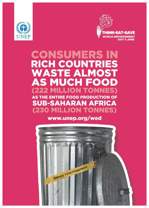 Rich Countries Waste Almost as Much Food as the Entire Food Production of Sub-Saharan Africa