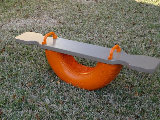 Upcycled See-saw