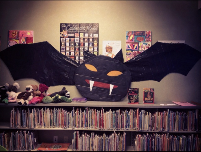 Halloween Bat From Garbage Bag