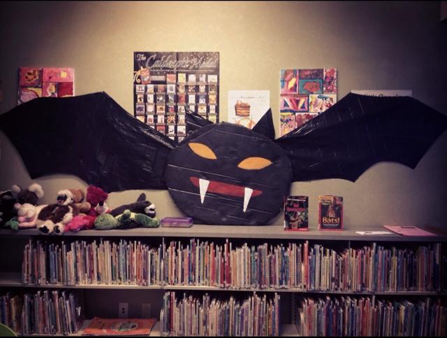 Halloween Bat From Garbage Bag